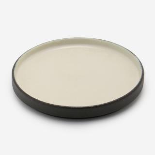 KASANE 取り皿(フタ) ブラック×ホワイト