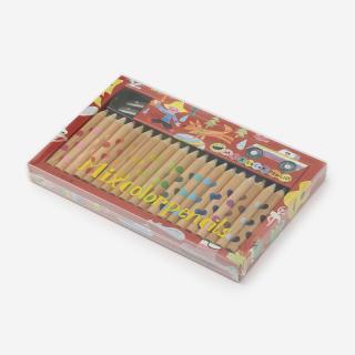 WORK&CREATE ミックス色鉛筆20本