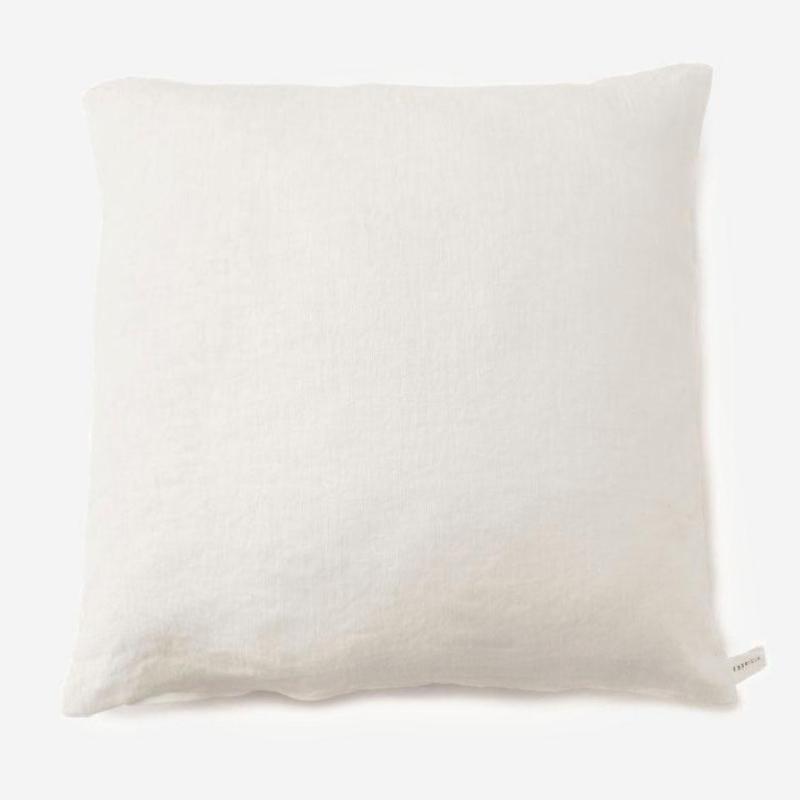 FABRICIA PLANクッションカバー 45cm角 ホワイト