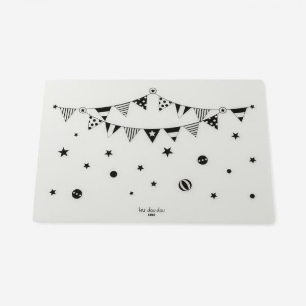 Les Dou Dou bebe テーブルマット サーカス  31×45cm