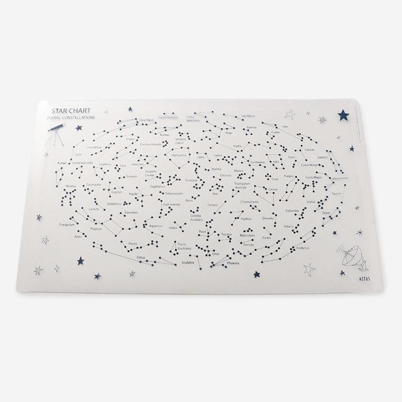 NEW STAR CHARTデスクマット 80×47cm