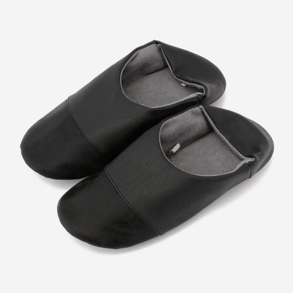 BADRUMⅢルームシューズ 23-24.5cm(M) ブラック×ブラック