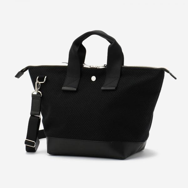 CaBas No.33-plus Bowler bag small+shoulder strap Black/Black
