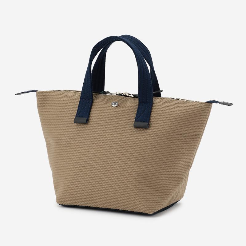 CaBas No.33 Bowler bag small KhakiBeige/Navy