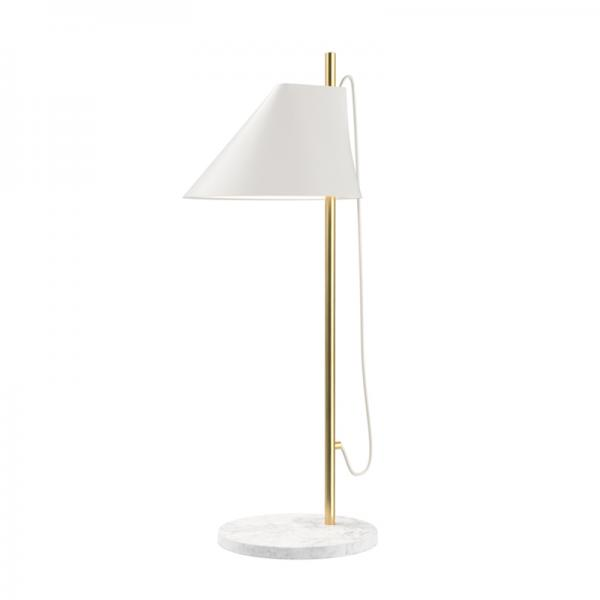 Louis Poulsen YUH TABLE LAMP BRASS/WHITE