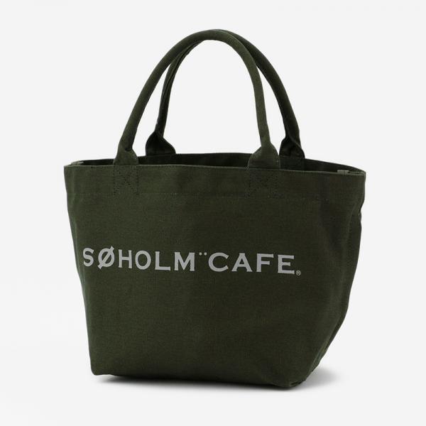 SOHOLM CAFE スーホルムバッグ スモール チャコールグレー