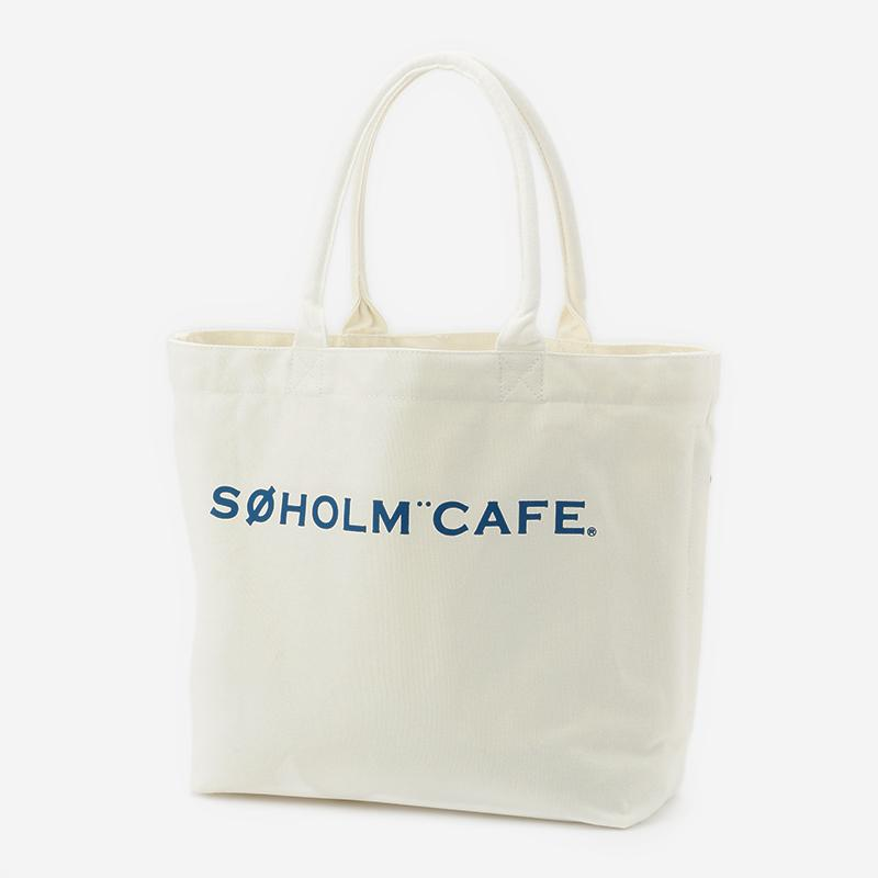 SOHOLM CAFE スーホルムバッグ ビッグ オフホワイト