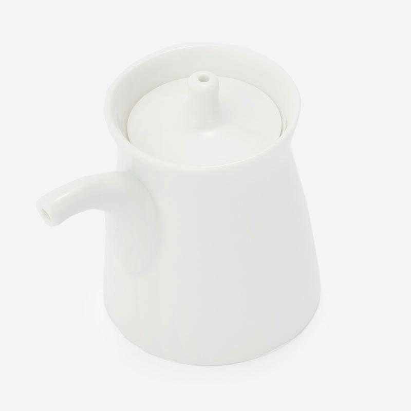 白山陶器 G型しょうゆさし 白磁