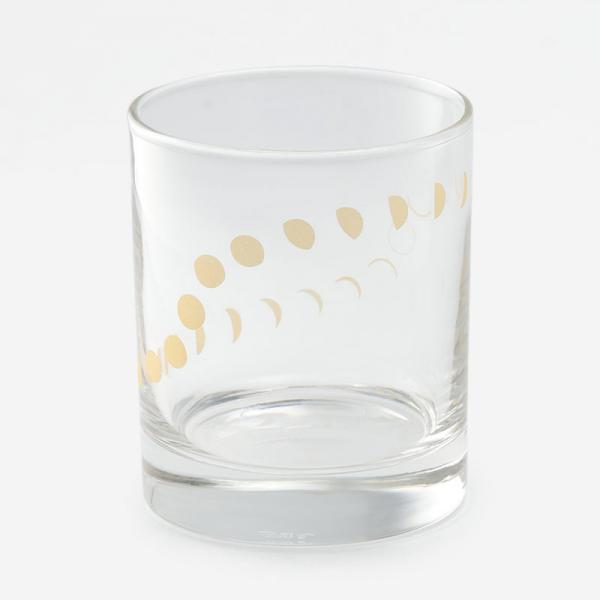 ムーンフェーズグラス 300ml ゴールド