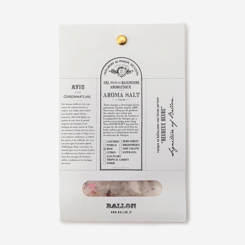 BALLON バスソルトパック ローズ