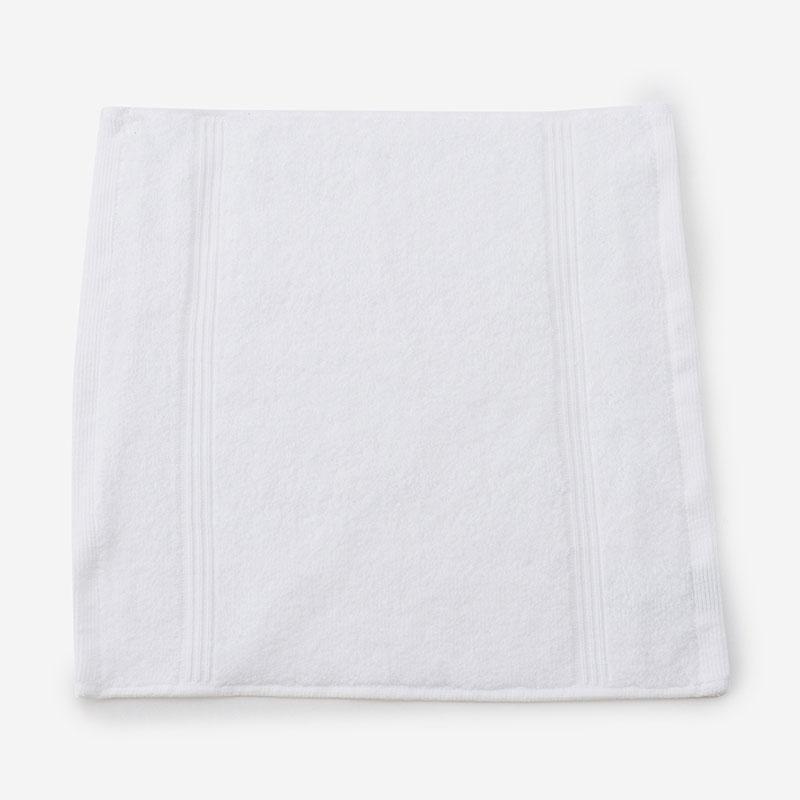 AYUR ウォッシュタオル 33×33 ホワイト