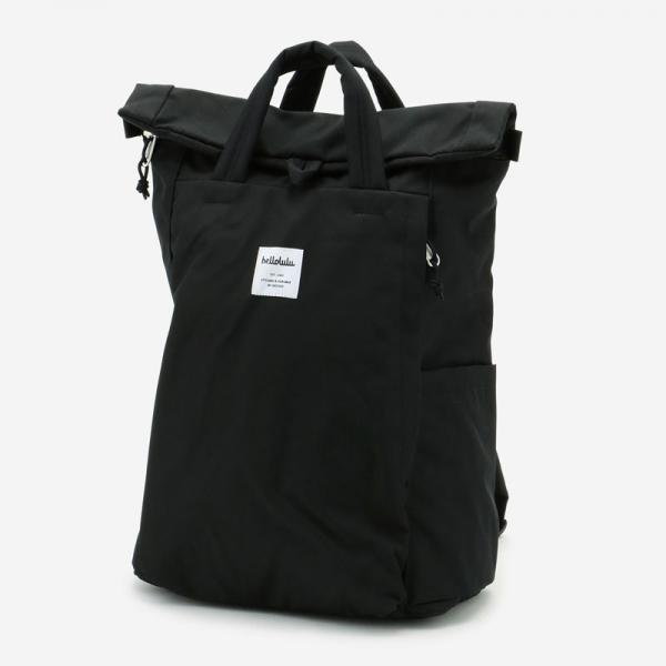 Hellolulu TATEバックパック ブラック