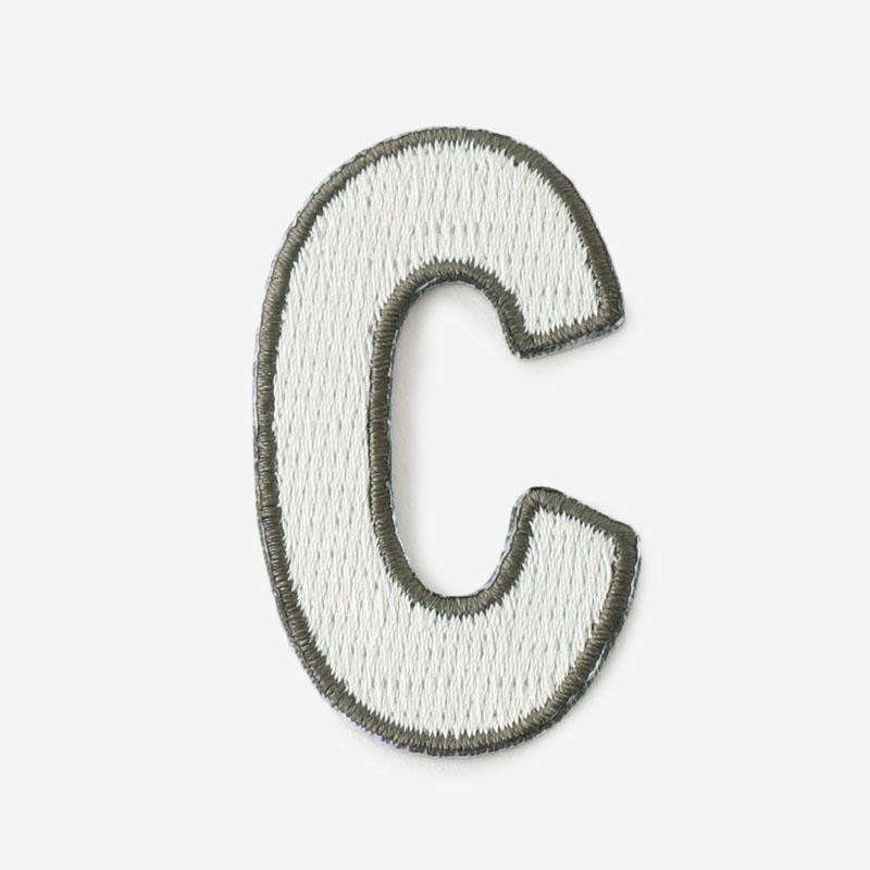 One's initials ワッペン C
