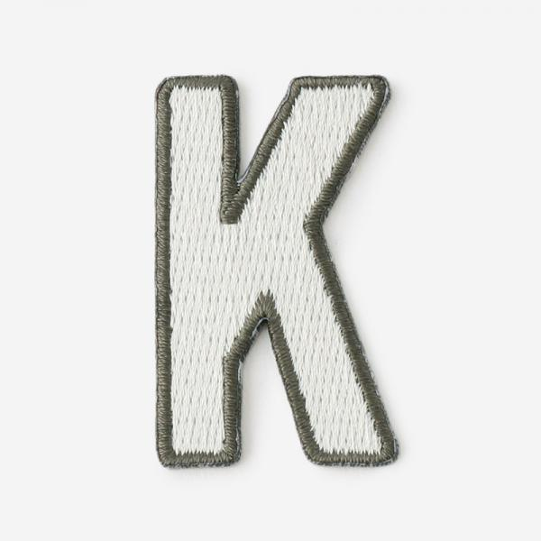 One's initials ワッペン K