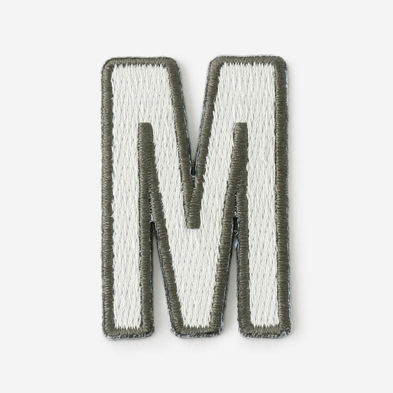 One's initials ワッペン M