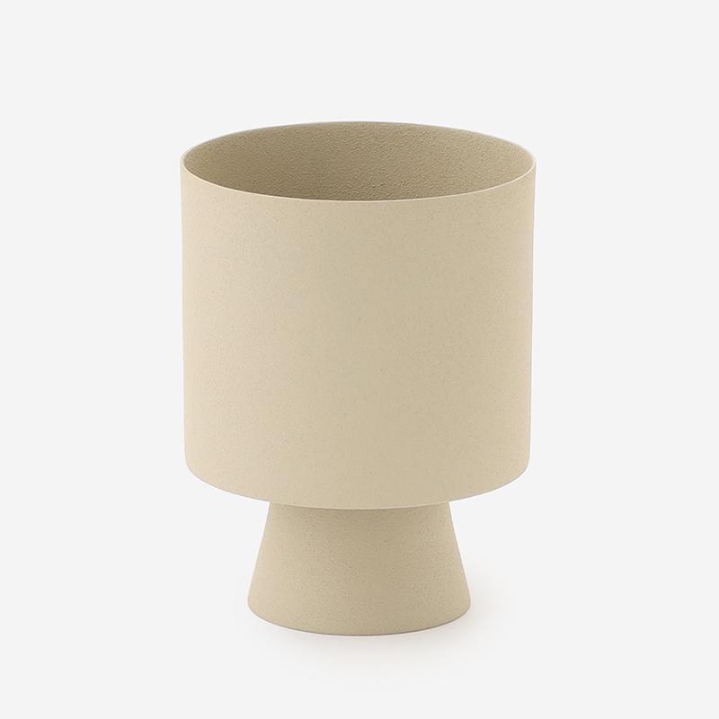 プラントポット/リンネア (直径10cm) ホワイト