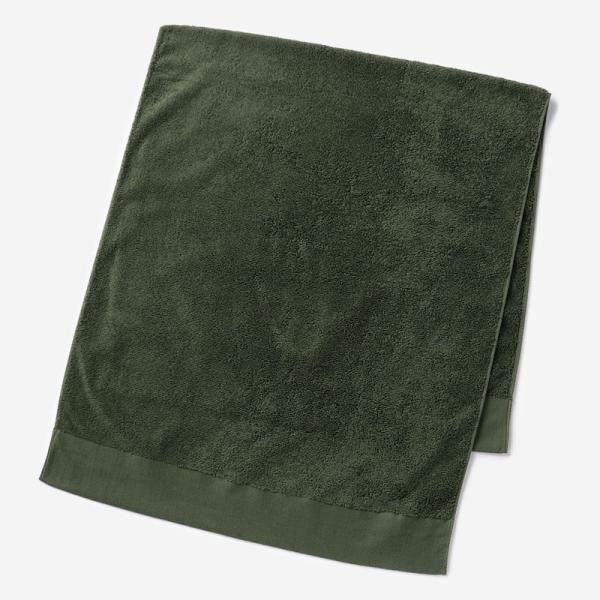 EVERY バスタオル 60×130cm ダークグリーン