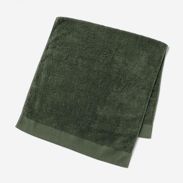 EVERY ミニバスタオル 50×100cm ダークグリーン