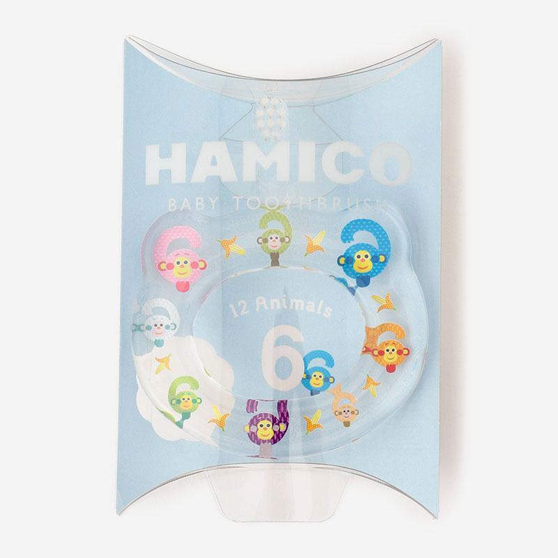 Hamico ベビー歯ブラシ サル
