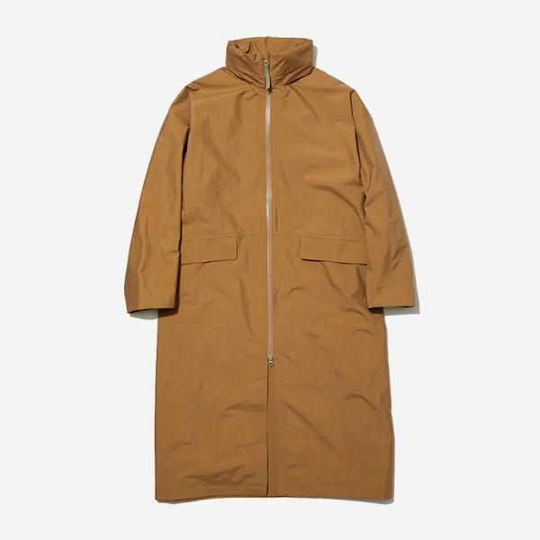 LN RAIN COAT WMサイズ オッカーブラウン