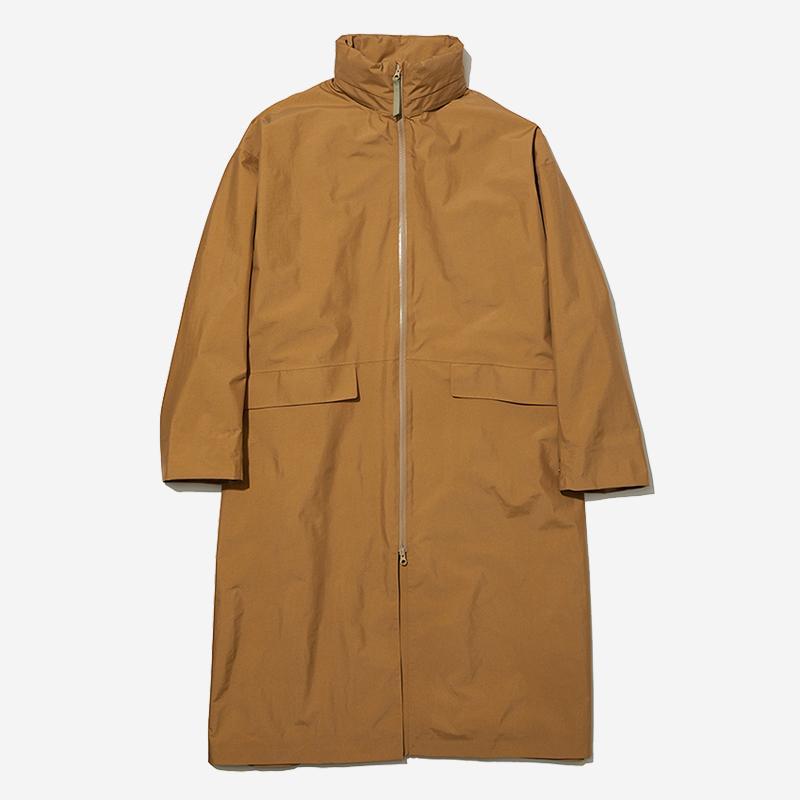 LN RAIN COAT Mサイズ オッカーブラウン
