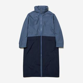 LN RAIN COAT WLサイズ オレゴングレープ×ヘリーブルー