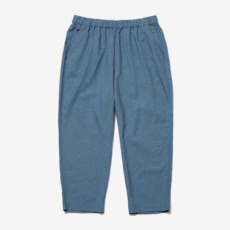 LandNorm LINEN RELAX PANTS WLサイズ オレゴングレープ