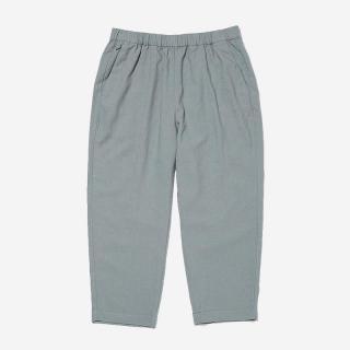 LandNorm LINEN RELAX PANTS WSサイズ ミディアムグレー