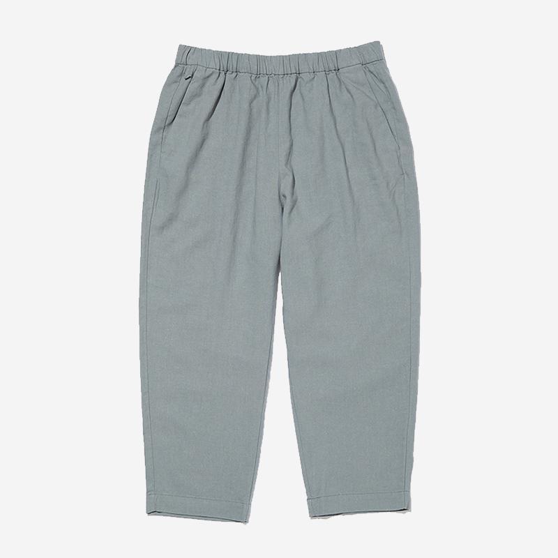 LN LINEN RELAX PANTS WSサイズ ミディアムグレー