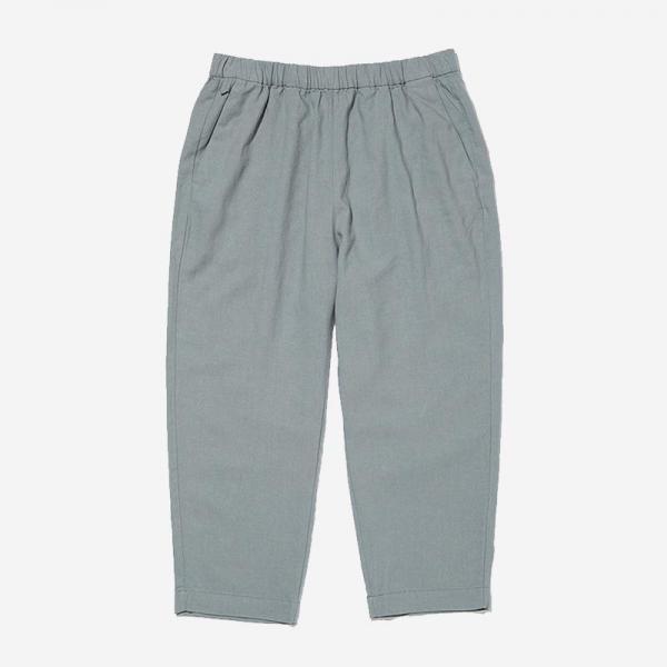LN LINEN RELAX PANTS WLサイズ ミディアムグレー