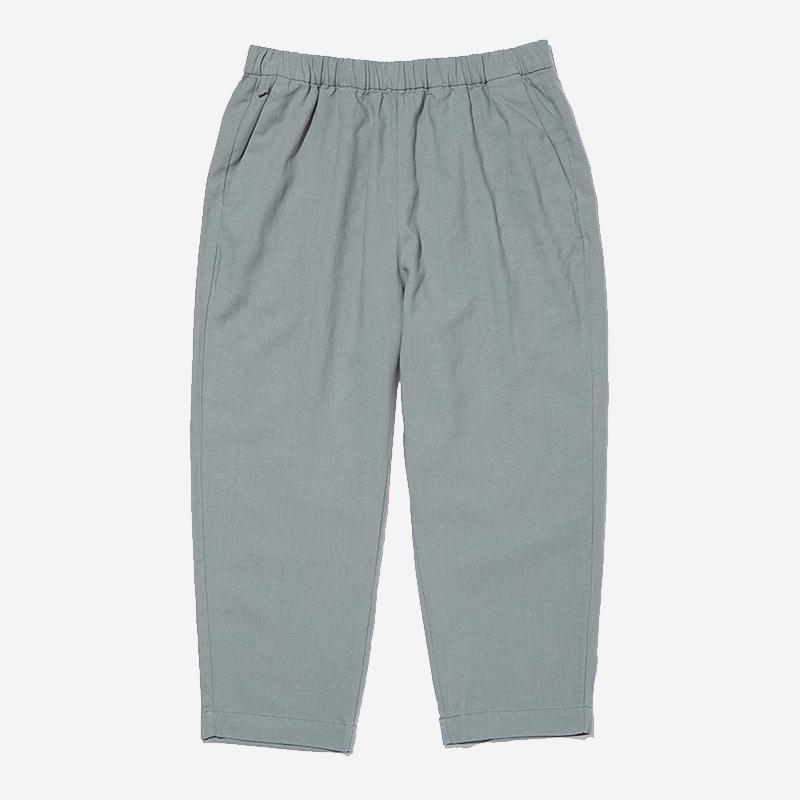 LN LINEN RELAX PANTS Lサイズ ミディアムグレー