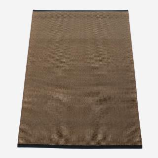 FABULA FAGUSラグ 1425 140cm×200cm チャコールグレー×ナチュラル