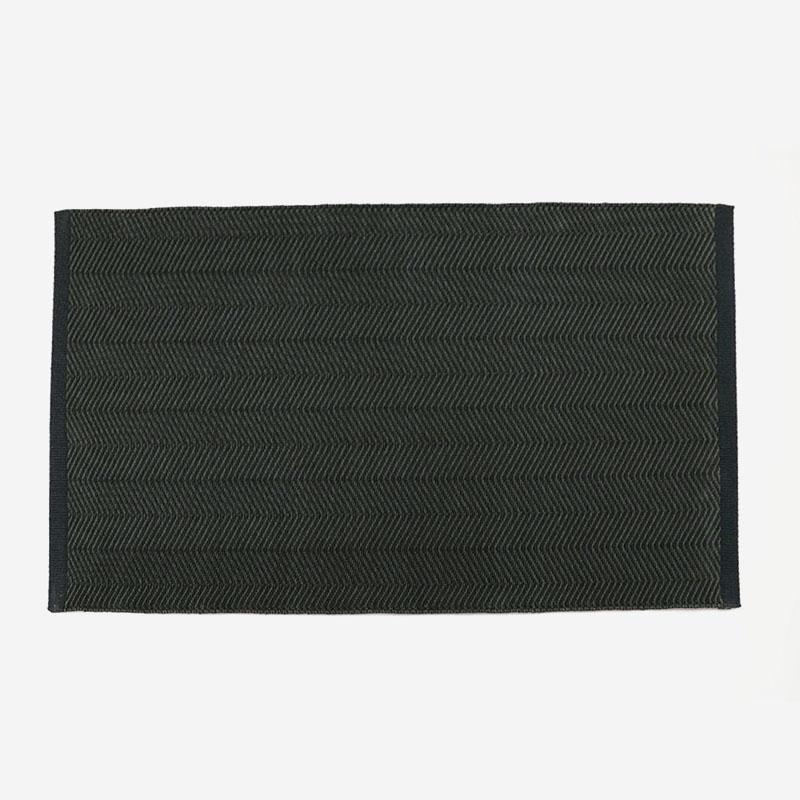 FABULA ULMUSラグ 1414 60cm×90cm チャコールグレー