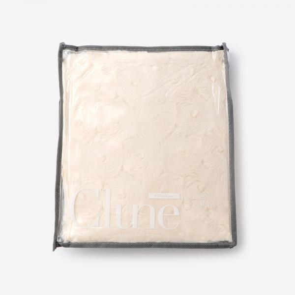 CLUNE-B ピロケース 50cm×70cm アイボリー