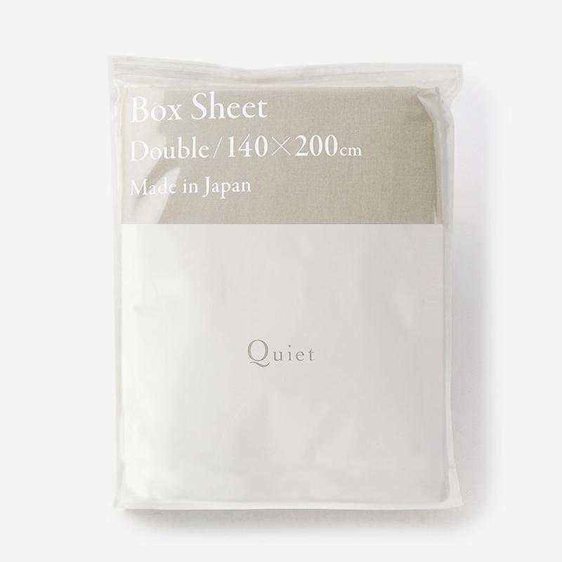 Quiet WASH LINEN フィットシーツ(ダブル) 140×200 SAND