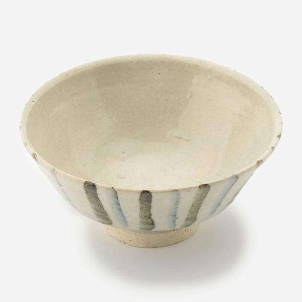 伊賀焼 お碗 ゴス錆帯トクサ