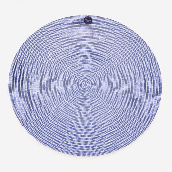 ARABIA 24h アベック プレート 26cm ブルー