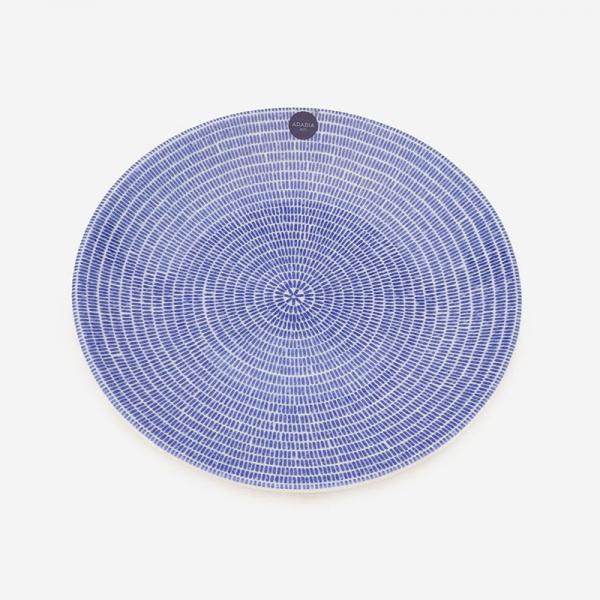 ARABIA 24h アベック プレート 20cm ブルー