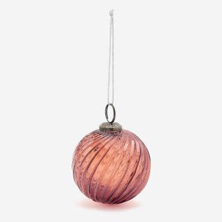 ガラスオーナメント ボール Lサイズ アンバー
