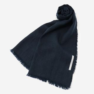 LITHUANIA LINEN STOLE NAVY
