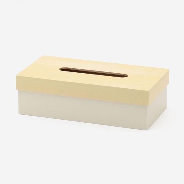 ヤマト工芸 T CUBE TISSUE BOX ナチュラル