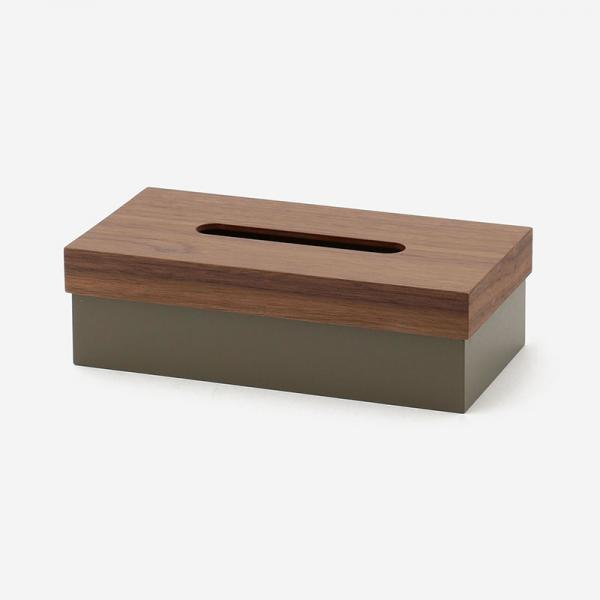 ヤマト工芸 T CUBE TISSUE BOX ウォールナット