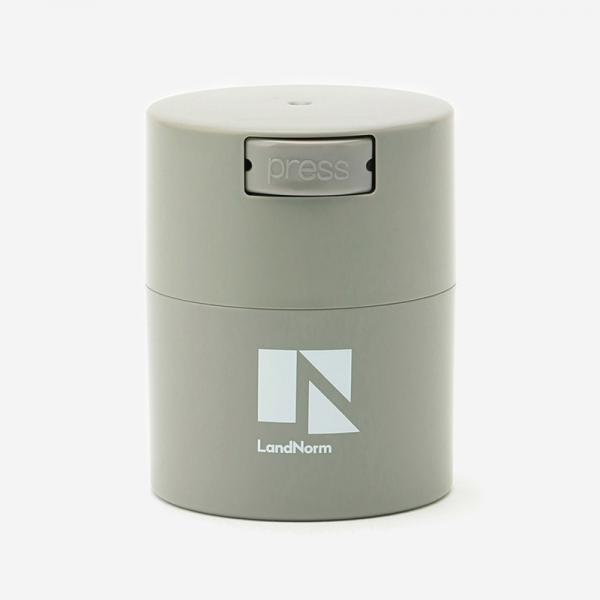 LandNorm CONTAINER Sサイズ 0.29L ライトグレー