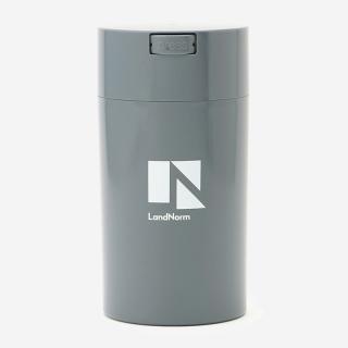 LandNorm CONTAINER Lサイズ 1.3L ブルーグレー