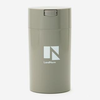 LandNorm CONTAINER Lサイズ 1.3L ライトグレー