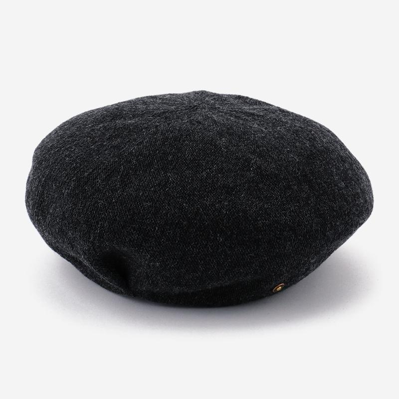 Nine tailor Aquatica Beret チャコールグレー