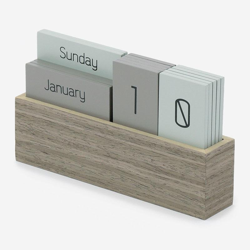 RAY デスクカレンダー グレー