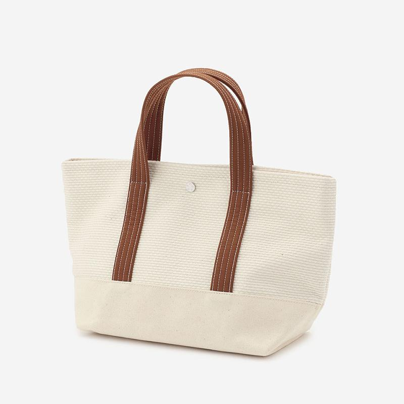 CaBas No.1 Tote Small White/Amber