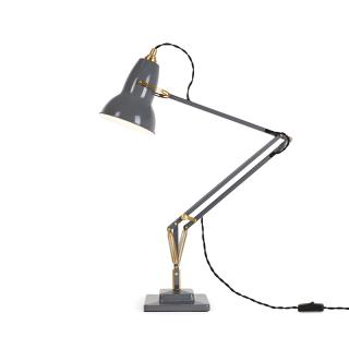 ORIGINAL 1227 BRASS DESK LAMP ELEPHANT GREY