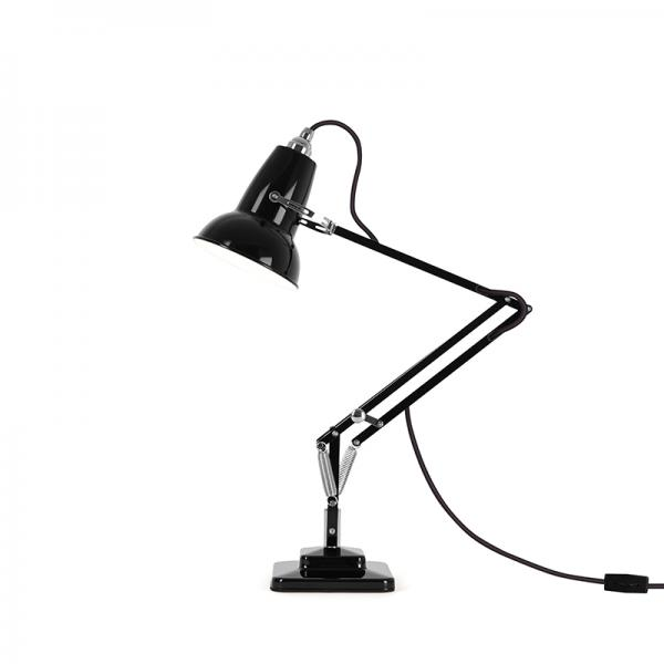 ORIGINAL 1227  MINI DESK LAMP JET BLACK
